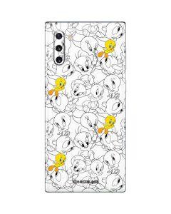 Tweety Super Sized Pattern Galaxy Note 10 Skin