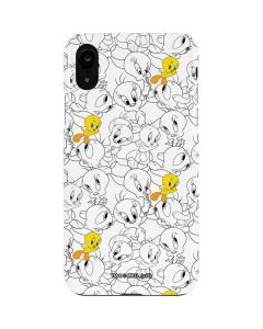Tweety Super Sized Pattern iPhone XR Lite Case