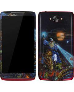 Twilight Tempest Wizard Motorola Droid Skin
