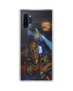 Twilight Tempest Wizard Galaxy Note 10 Plus Clear Case