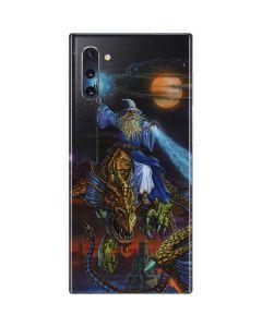 Twilight Tempest Wizard Galaxy Note 10 Skin