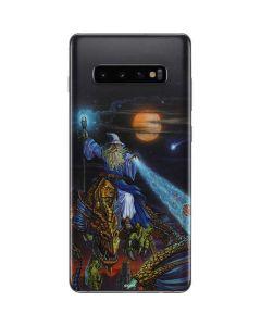 Twilight Tempest Wizard Galaxy S10 Plus Skin