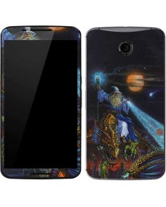 Twilight Tempest Wizard Google Nexus 6 Skin