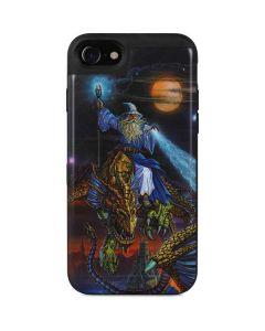 Twilight Tempest Wizard iPhone SE Wallet Case