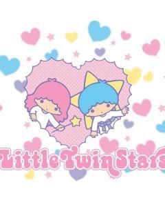 Little Twin Stars Hearts Google Home Skin