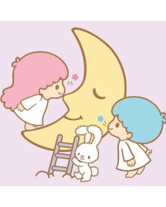 Little Twin Stars Moon Google Home Skin