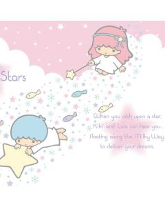 Little Twin Stars Wish Upon A Star Playstation 3 & PS3 Slim Skin