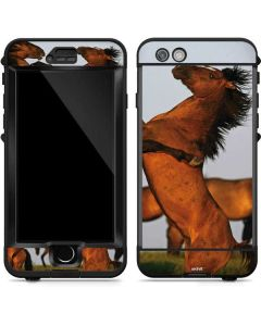 Two Stallions at a Wild Horse Conservation Center LifeProof Nuud iPhone Skin