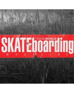 TransWorld SKATEboarding Magazine Chalkboard Moto E5 Plus Clear Case