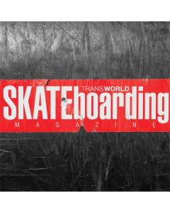 TransWorld SKATEboarding Magazine Chalkboard Dell Latitude Skin