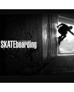 TransWorld SKATEboarding Wall Ride Moto E5 Plus Clear Case