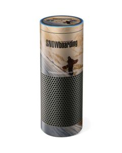 TransWorld SNOWboarding Sunset Amazon Echo Skin