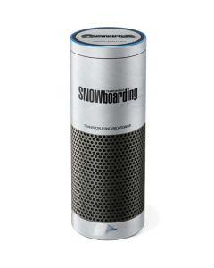 TransWorld SNOWboarding Mountain Amazon Echo Skin