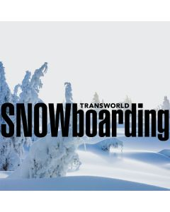 TransWorld SNOWboarding Trees Acer Chromebook Skin