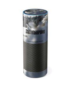 TransWorld SNOWboarding Peaking Amazon Echo Skin