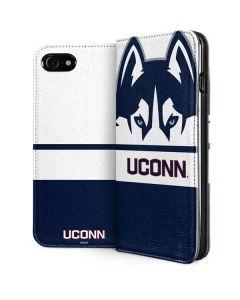 UCONN Huskies iPhone SE Folio Case