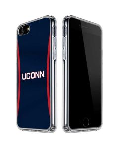 UCONN Huskies Jersey iPhone SE Clear Case