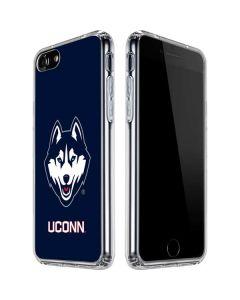 UCONN Huskies Mascot iPhone SE Clear Case