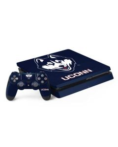 UCONN Huskies Mascot PS4 Slim Bundle Skin