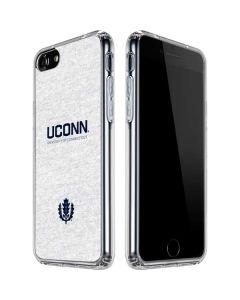 UCONN iPhone SE Clear Case