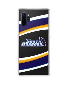 UCSB Logo Galaxy Note 10 Plus Clear Case