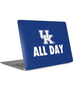 UK All Day Blue Apple MacBook Air Skin