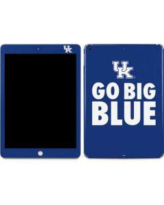 UK Go Big Blue Apple iPad Skin