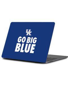 UK Go Big Blue Apple MacBook Pro 13-inch Skin