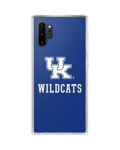 UK Kentucky Wildcats Galaxy Note 10 Plus Clear Case