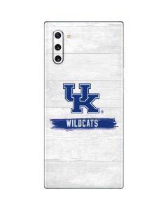 UK Kentucky Wildcats Wood Galaxy Note 10 Skin