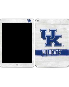 UK Kentucky Wildcats Wood Apple iPad Skin