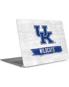 UK Kentucky Wildcats Wood Apple MacBook Air Skin