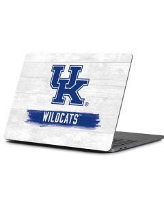 UK Kentucky Wildcats Wood Apple MacBook Pro 13-inch Skin