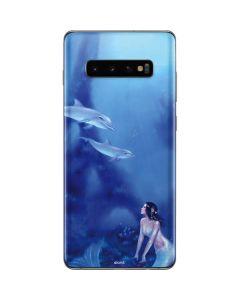 Ultramarine Galaxy S10 Plus Skin