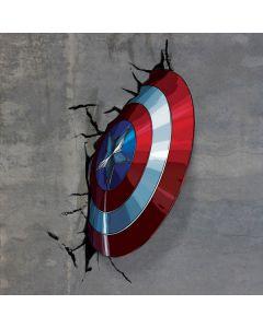 Captain America Vibranium Shield Dell Inspiron Skin