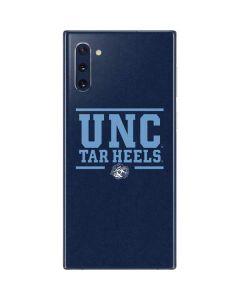 UNC Tar Heels Galaxy Note 10 Skin