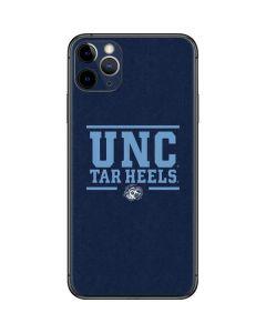 UNC Tar Heels iPhone 11 Pro Max Skin