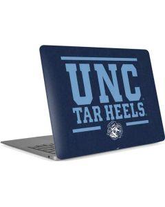 UNC Tar Heels Apple MacBook Air Skin