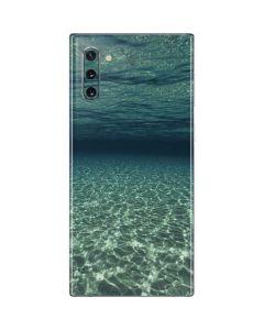 Underwater View of Grand Cayman Island Galaxy Note 10 Skin