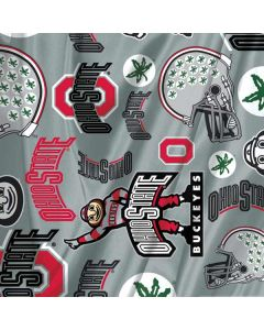 Ohio State Pattern Google Home Hub Skin