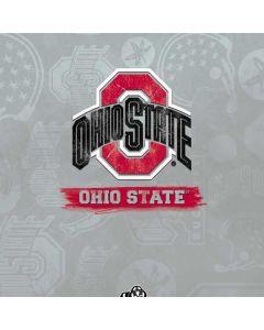 Ohio State Distressed Logo Cochlear Nucleus 5 Sound Processor Skin