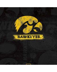 Iowa Hawkeyes Distressed Logo Dell Inspiron Skin