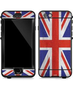 United Kingdom Flag Distressed LifeProof Nuud iPhone Skin