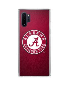 University of Alabama Seal Galaxy Note 10 Plus Clear Case