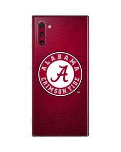 University of Alabama Seal Galaxy Note 10 Skin