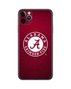University of Alabama Seal iPhone 11 Pro Max Skin