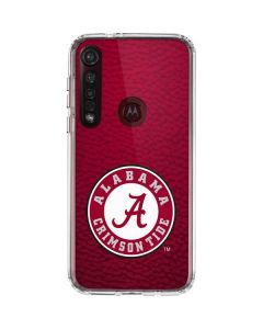 University of Alabama Seal Moto G8 Plus Clear Case