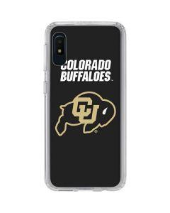 University of Colorado Buffaloes Galaxy A10e Clear Case