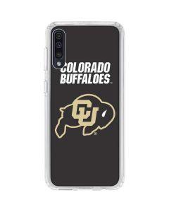 University of Colorado Buffaloes Galaxy A50 Clear Case