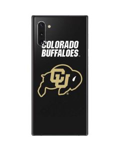 University of Colorado Buffaloes Galaxy Note 10 Skin